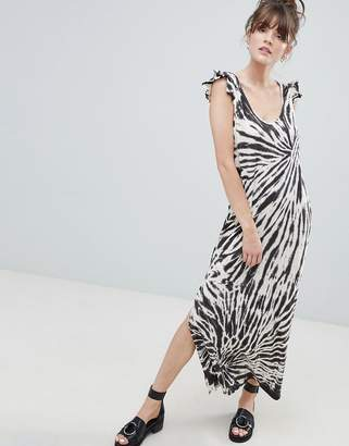 Leon and Harper Tie Dye Maxi Dress