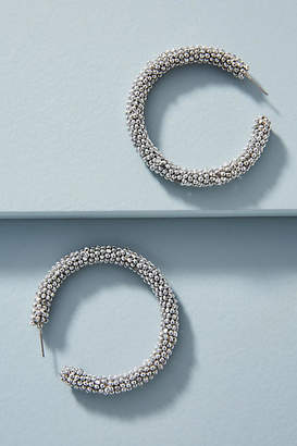 Sachin + Babi Beaded Hoop Earrings