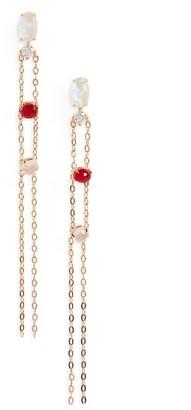 Women's Nadri Fizzy Chain Drop Earrings $88 thestylecure.com