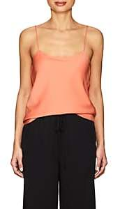 The Row Women's Biggins Stretch-Silk Georgette Cami - Flamingo