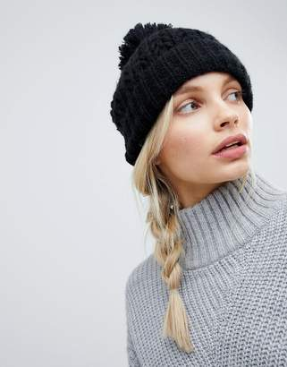 Alice Hannah Lace Stitch Beanie Hat