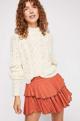 Ojai Ruffle Mini Skirt