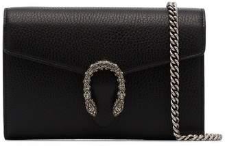 Gucci black Dionysus mini leather shoulder bag