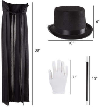 Trademark Global Kids Magician Costume Set By Hey Play