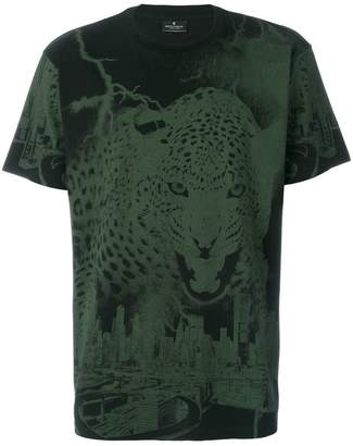 Marcelo Burlon County of Milan graphic leopard print T-shirt