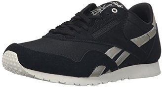 Reebok Women's CL Nylon Slim Metallic Fashion Sneaker $52.90 thestylecure.com