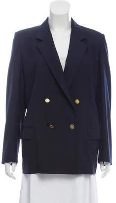 Burberry Double-Breasted Wool Blazer