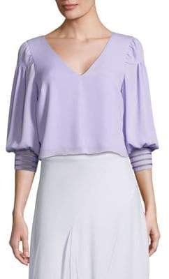 Prose & Poetry Debra V-Neck Blouse