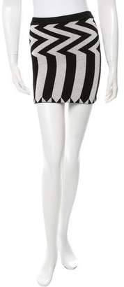 Opening Ceremony Striped Mini Skirt