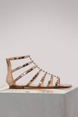 Valentino Lovestud flat sandals