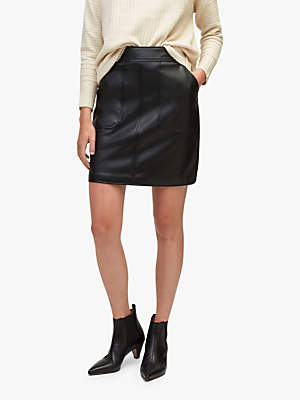 Warehouse Pocket Detail Skirt, Black