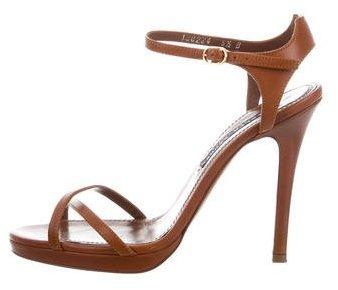 Ralph Lauren Collection Dakota Multistrap Sandals
