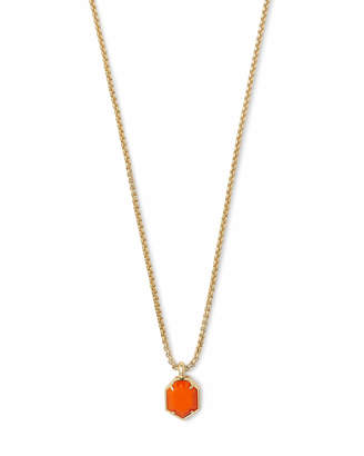 Kendra Scott Teo Gold Pendant Necklace