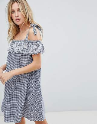 Accessorize Gingham Beach Dress