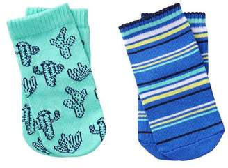 Gymboree Cactus & Stripe Socks