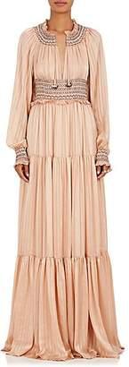 Ulla Johnson Women's Athena Silk Maxi Dress - Rose