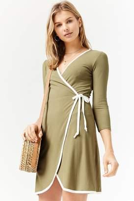 Forever 21 Surplice Wrap Dress
