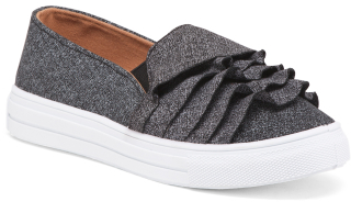 Ruffle Sneakers $19.99 thestylecure.com