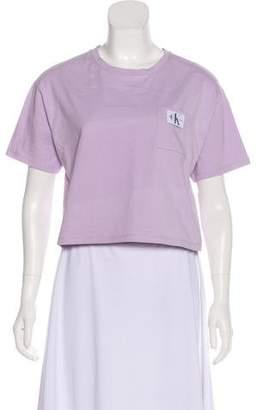 Calvin Klein Jeans Short Sleeve Cropped T-Shirt