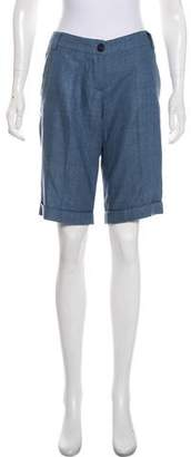 Etro Silk Knee-Length Shorts