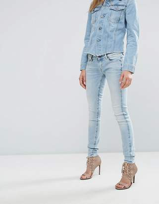 G-Star 3301 Low Waisted Super Skinny Jeans $151 thestylecure.com