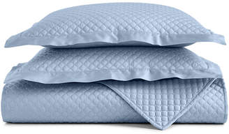 Charter Club Damask Cotton Quilted European Sham, Created for Macy's Bedding
