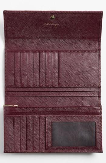 Salvatore Ferragamo 'Vara' Continental Wallet
