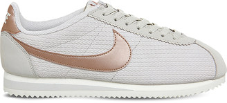 NIKE Classic Cortez leather trainers $79 thestylecure.com