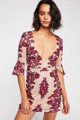 For Love & Lemons Temecula Summer Bodycon Mini Dress