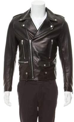 Saint Laurent L01 Leather Moto Jacket