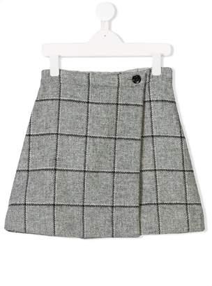 Oscar de la Renta Kids plaid skirt