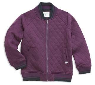 14043a8d2 Quilted Bomber Jacket Boys - ShopStyle