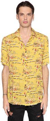 Exotic Printed Viscose Shirt $175 thestylecure.com