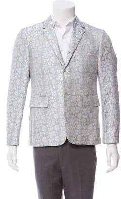 Thom Browne Silk Patterned Jacquard Sport Coat w/ Tags
