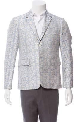 Thom Browne Silk Patterned Jacquard Sport Coat w/ Tags