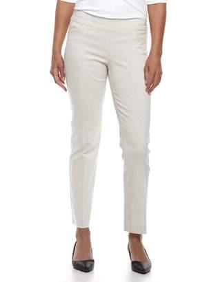 Apt. 9 Petite Pull-On Straight-Leg Dress Pants
