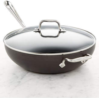 """All-Clad Hard Anodized 12"""" Chefs Pan with Lid"""