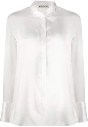 Etro fitted silk blouse