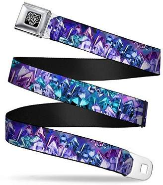 Buckle-Down Unisex-Adults Seatbelt Belt Crystals Regular