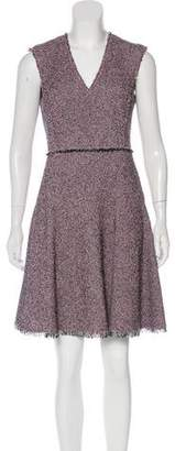 Rebecca Taylor Tweed Knee-Length Dress