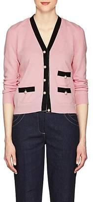 Barneys New York Women's Embellished Knit Cashmere Cardigan - Rose