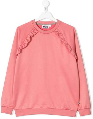 Molo Teen frill detail sweatshirt