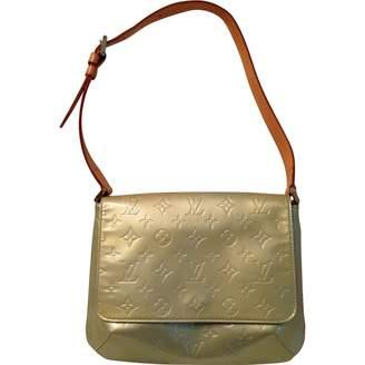 Louis Vuitton Gold Patent leather Handbag