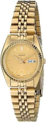 Seiko Women's SWZ058 Dress -Tone Watch