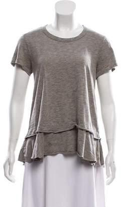 Wilt Knit Short Sleeve Top