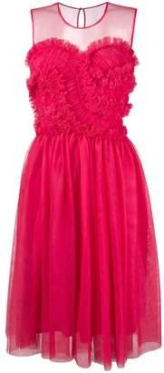P.A.R.O.S.H. frilled detail dress