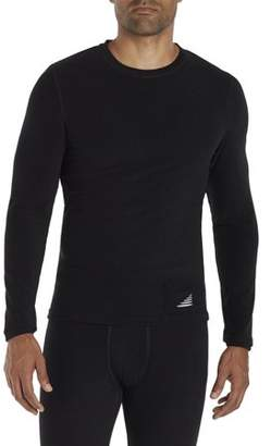 ClimateRight Big Men's Tech Fleece Heavy Weight Performance Base Layer Top