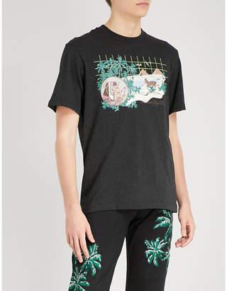 Billionaire Boys Club Landscape-print cotton-jersey T-shirt
