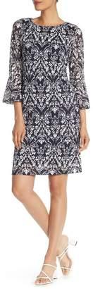 Ronni Nicole Bell Sleeve Lace Dress