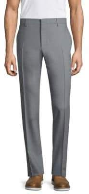 Salvatore Ferragamo Tailored-Fit Pleated Pants